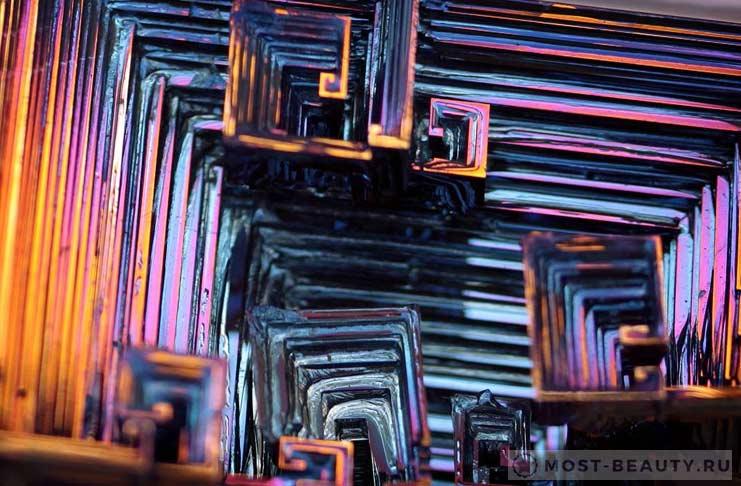 Самые красивые минералы в мире: Висмут