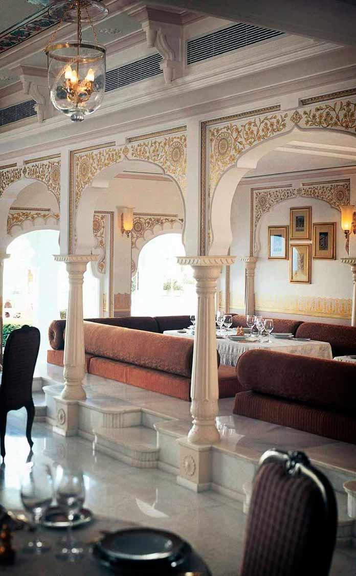taj lake palace restaurant
