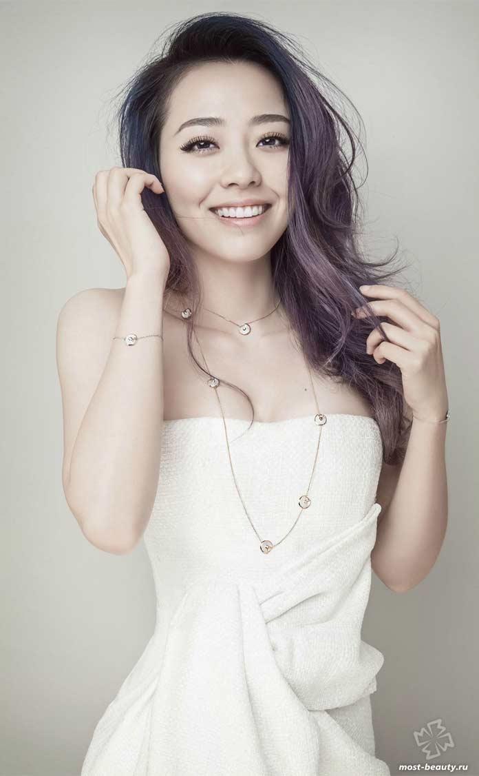 Очень привлекательные китаянки: Джейн Чжан