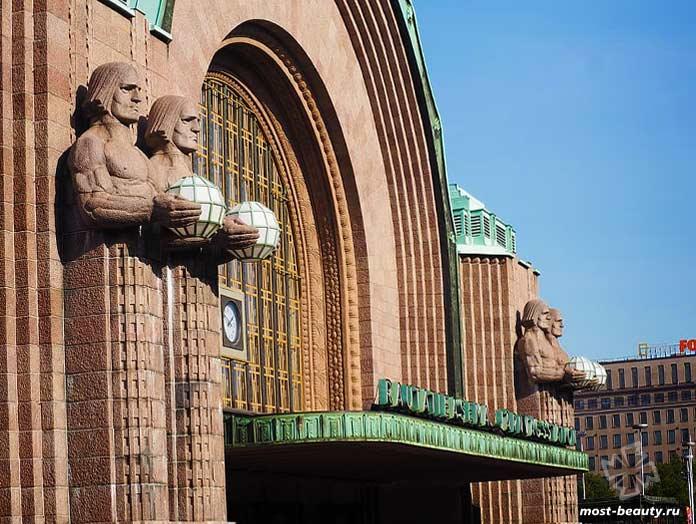 Центральный вокзал Хельсинки. CC0