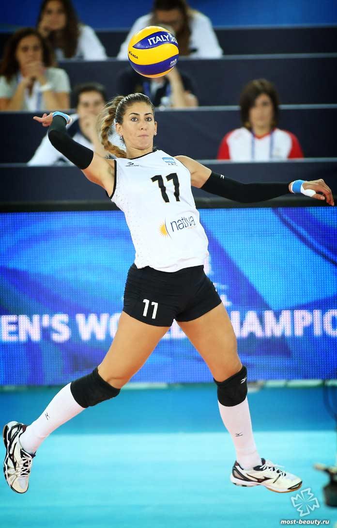 Красивые волейболистки: Julieta Lazcano