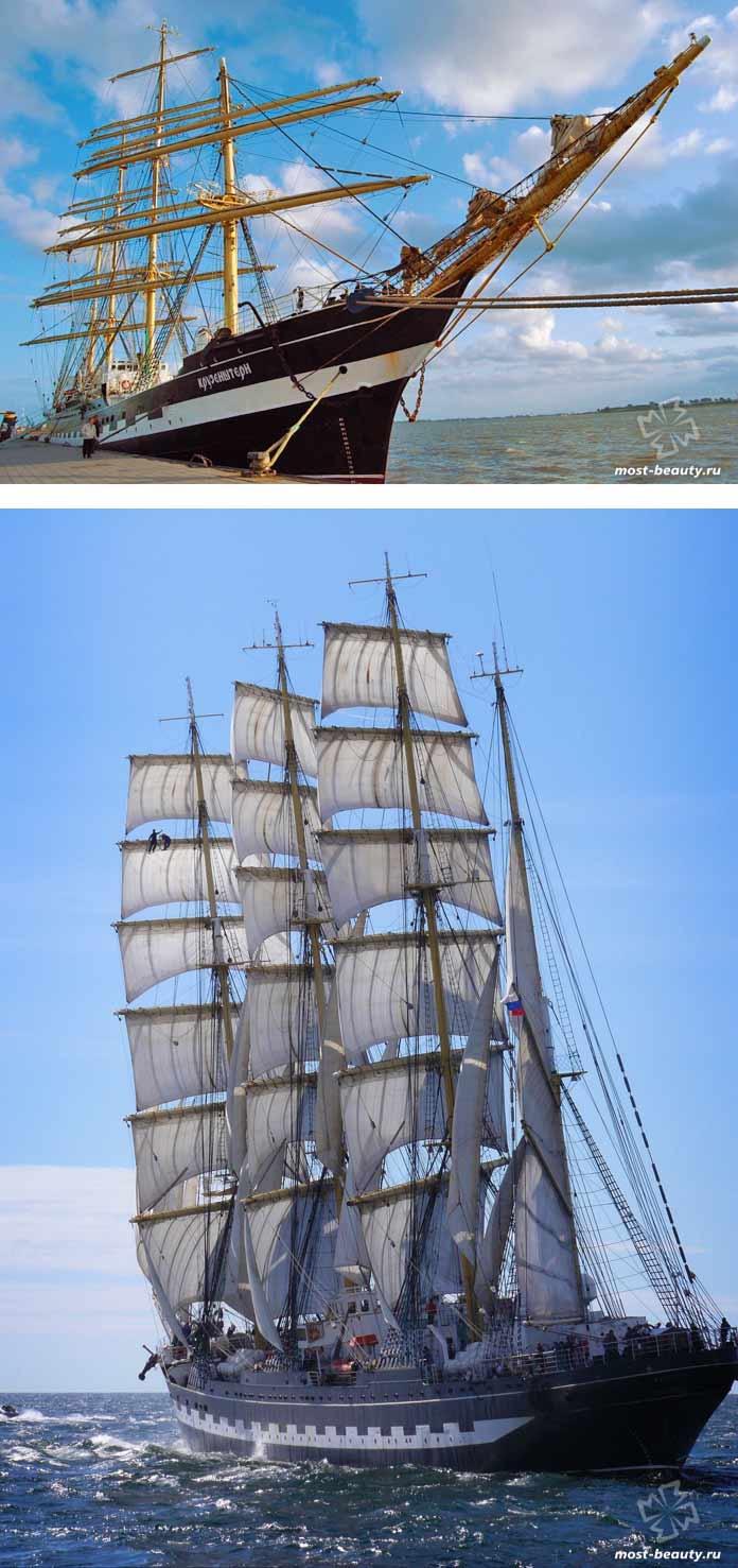 Очень красивые корабли мира: Крузенштерн. CC0