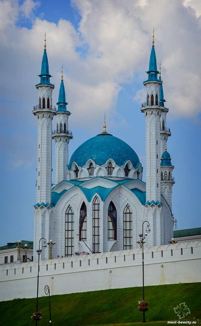 Архитектурные достопримечательности России: Мечеть Кул Шариф. CC0