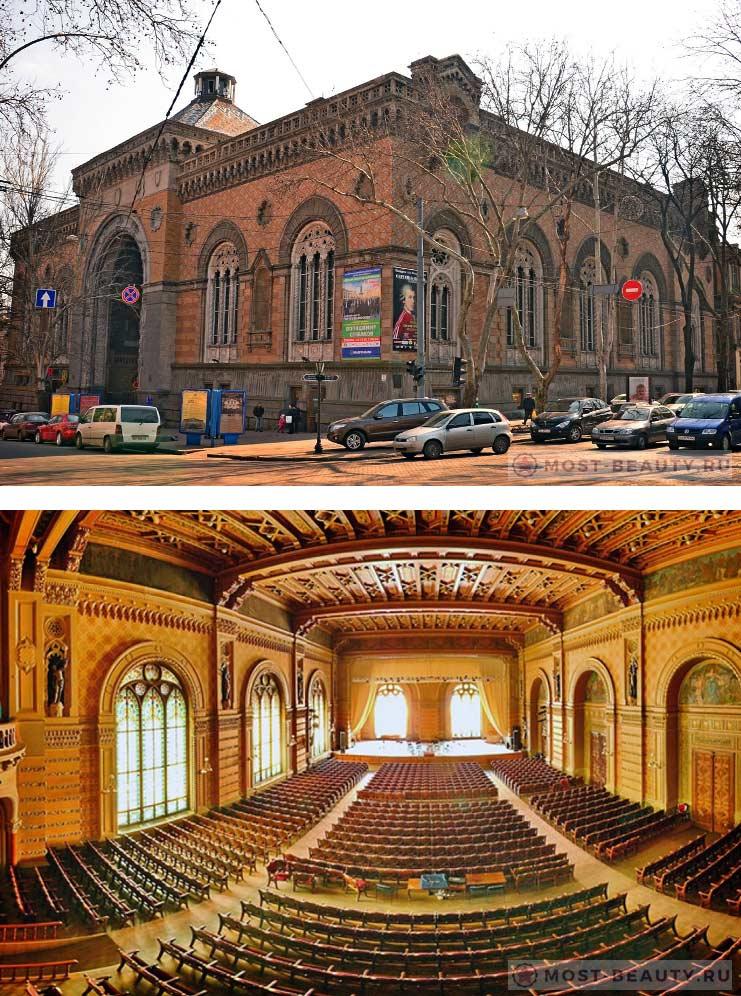 Красивые места Одессы: Одесская филармония