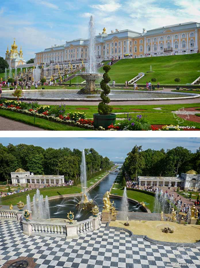 Архитектурные достопримечательности России: Петергоф. CC0