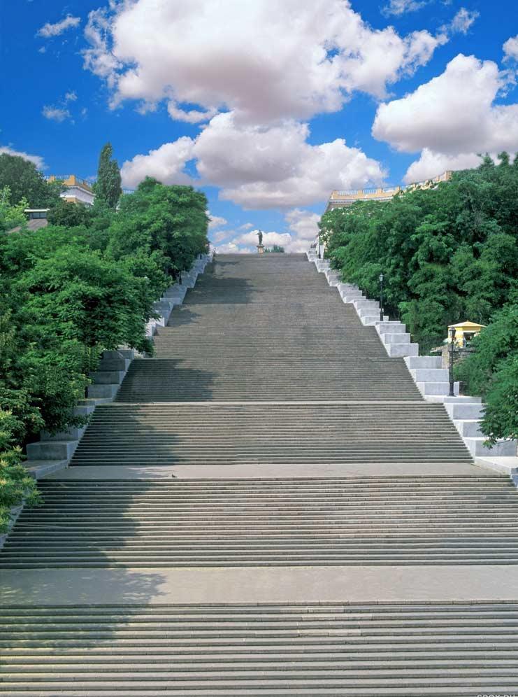 Известные места Одессы: Потемкинская лестница