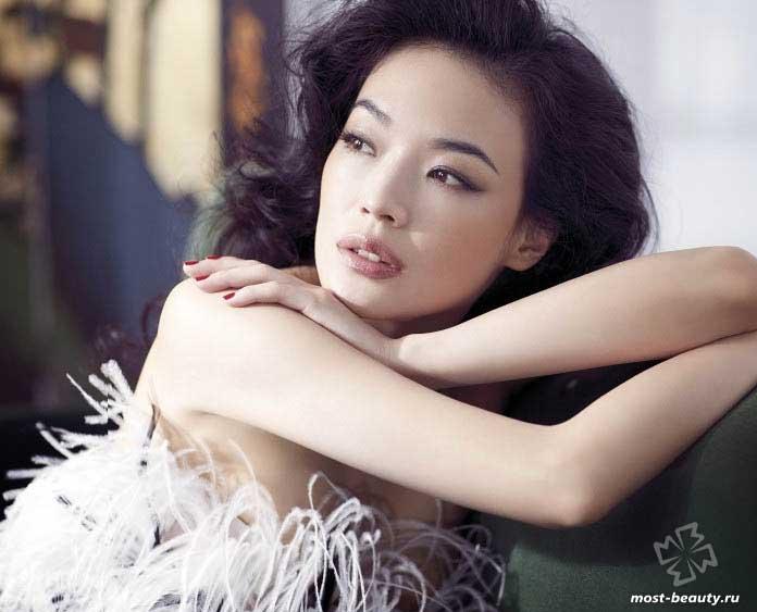 Красивые китайские девушки: Шу Ци
