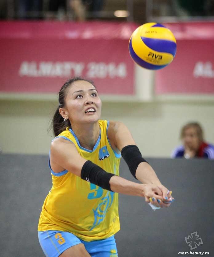 Список самых красивых волейболисток: Сана Анаркулова