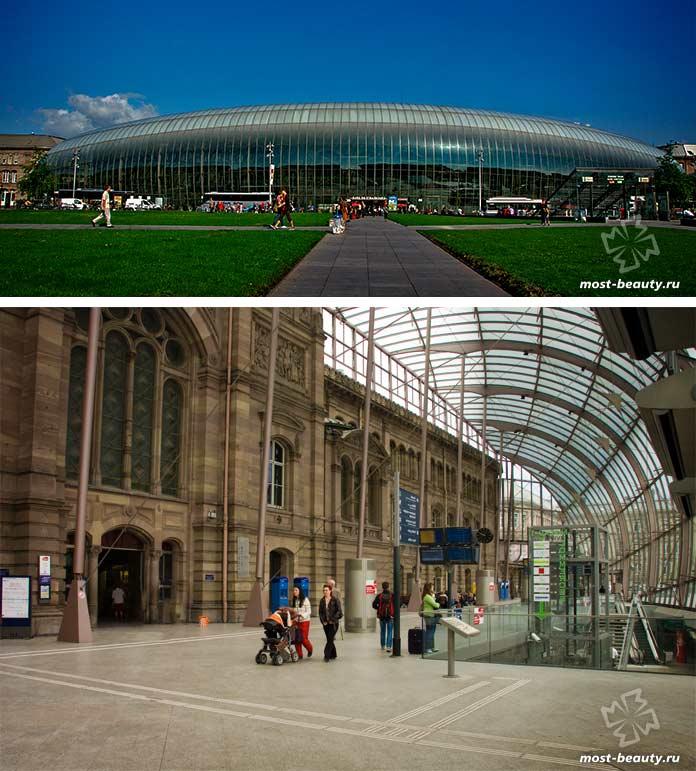 Gare de Strasbourg-Ville. Страсбург