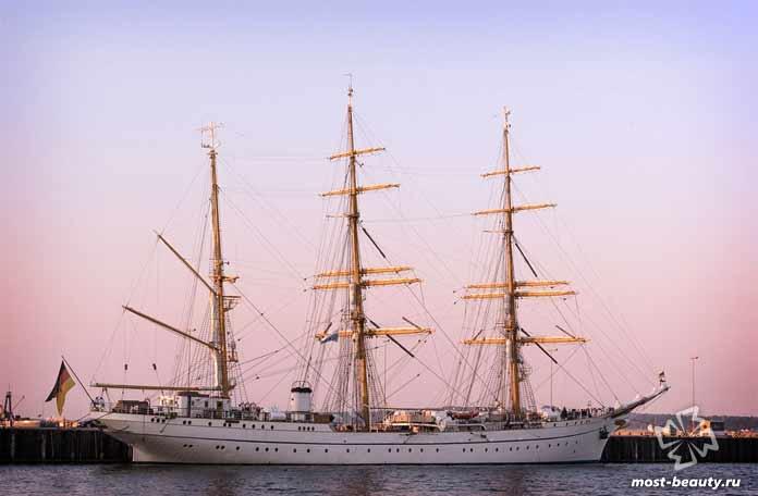 Самые красивые корабли мира: Судно Германия. CC0