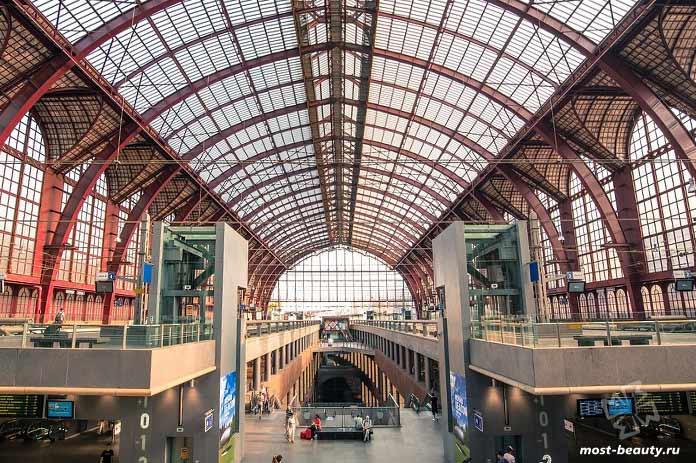 Центральный вокзал. Антверпен. CC0