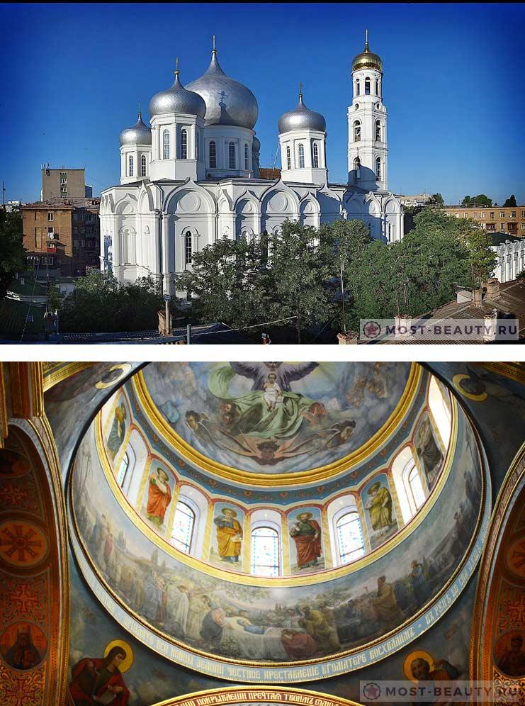 Красивые места Одессы: Успенский собор