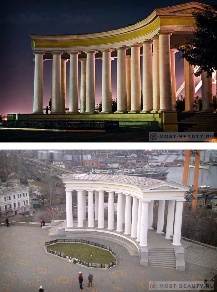 Самые прекрасные места Одессы: Воронцовская колоннада