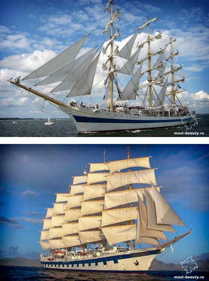 Самые прекрасные корабли: Учебное парусное судно «Мир»