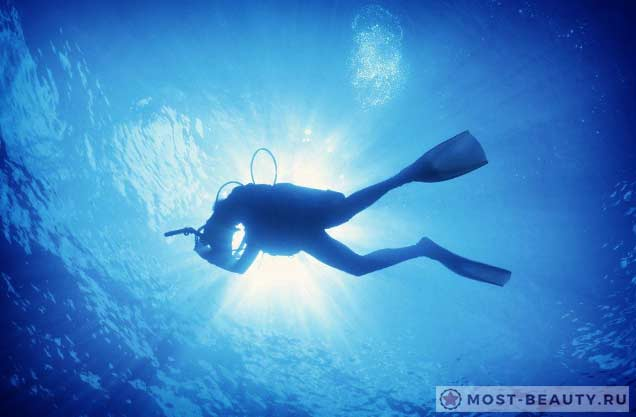 Подводный карьер в Пехчине