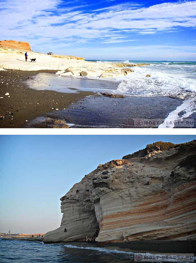 Гавернорс Бич. Красивые пляжи Кипра