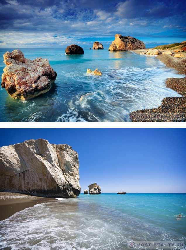 Камень Афролиты. Лучшие пляжи Кипра