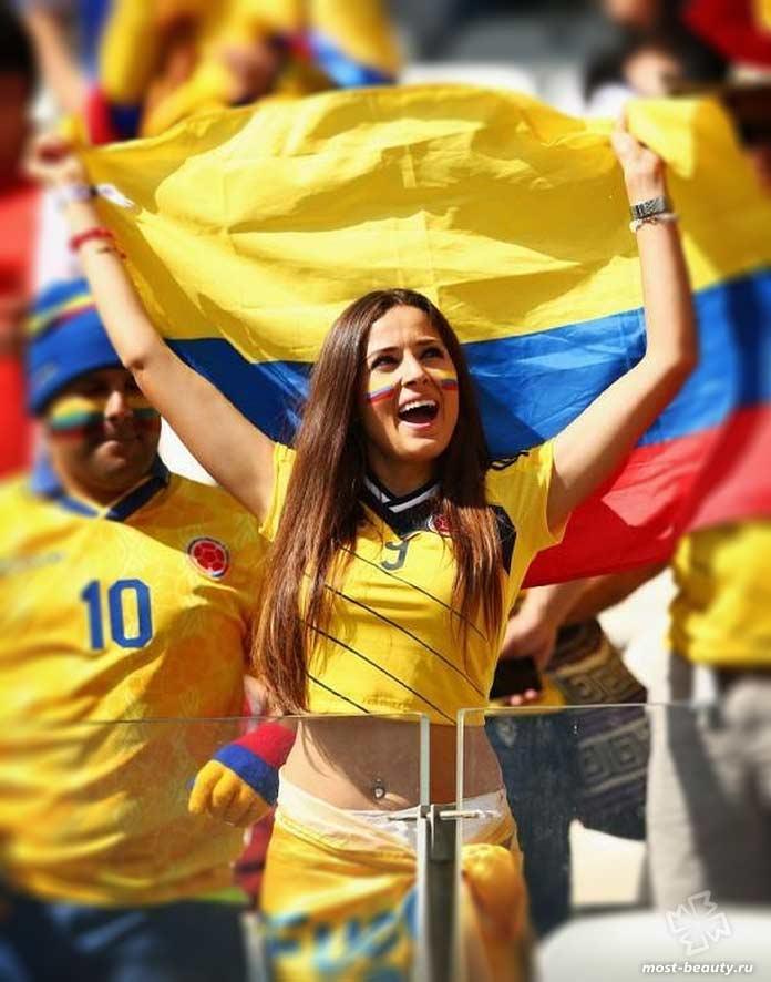 Колумбия - одна из стран с невероятно красивыми девушками