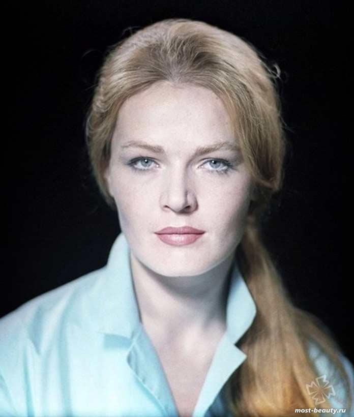 Людмила Чурсина - одна из самых красивых актрис СССР