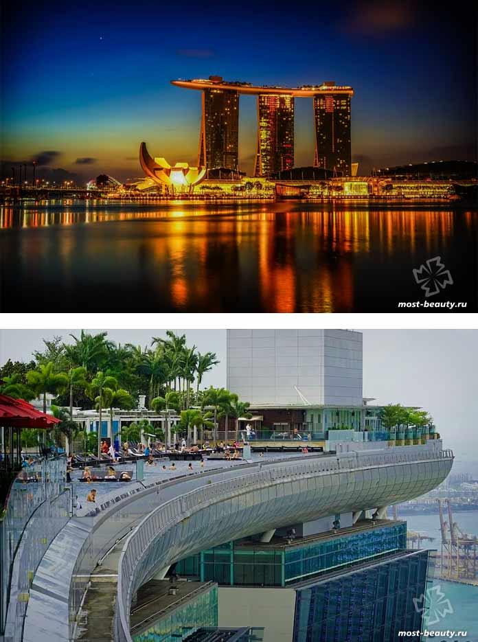 Лучшие достопримечательности Азии: Отель Marina Bay Sands. CC0