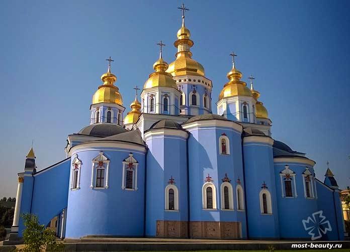 Самые красивые места Киева: Михайловский Златоверхий Собор. CC0