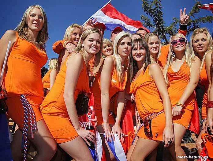 Страны с очень красивыми девушками: Нидерландки