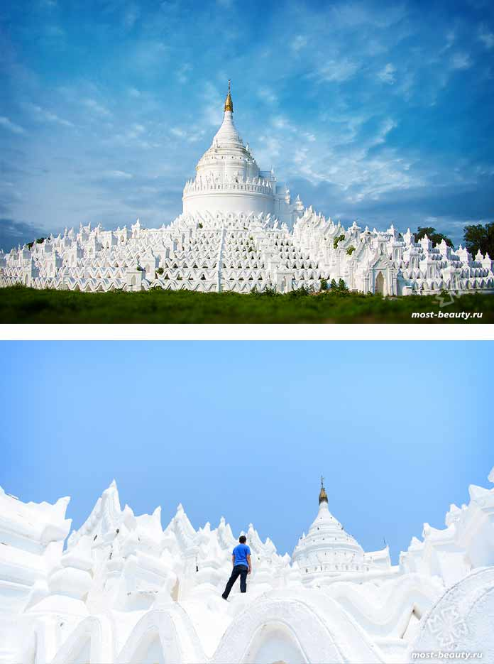 Красивые места Азии: Пагода Синбьюме. Мьянма