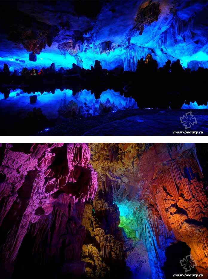 Невероятно красивые места Азии: Пещера тростниковой флейты. CC0