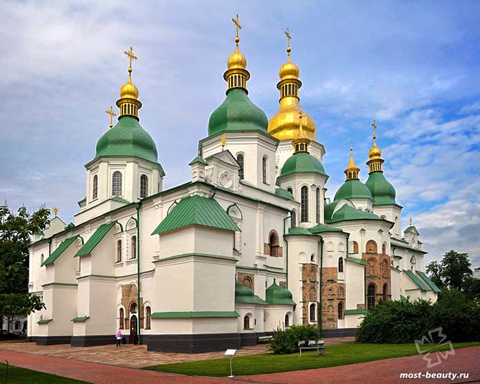 Самые красивые места Киева: Софийский собор киев