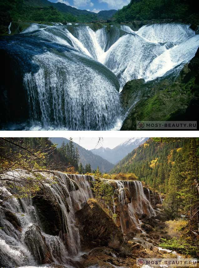 Водопад Жемчужина. Китай