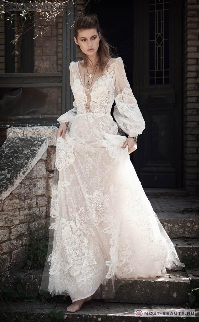 3032888c647b1db Также при выборе платья с рукавом, хорошо будут смотреться и рукава из  тюли, они будут выглядеть очень нежно, а издалека практически невидны.