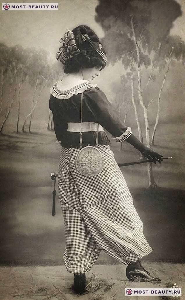 Стрые фотографии женщин, сделанные 100 лет назад