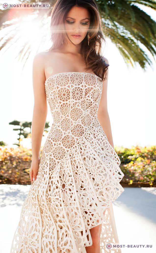 Вязаное платье от Frankie Batista