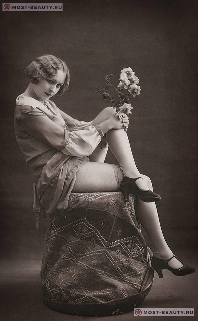 Фотографии девушек, сделанные более 100 лет назад