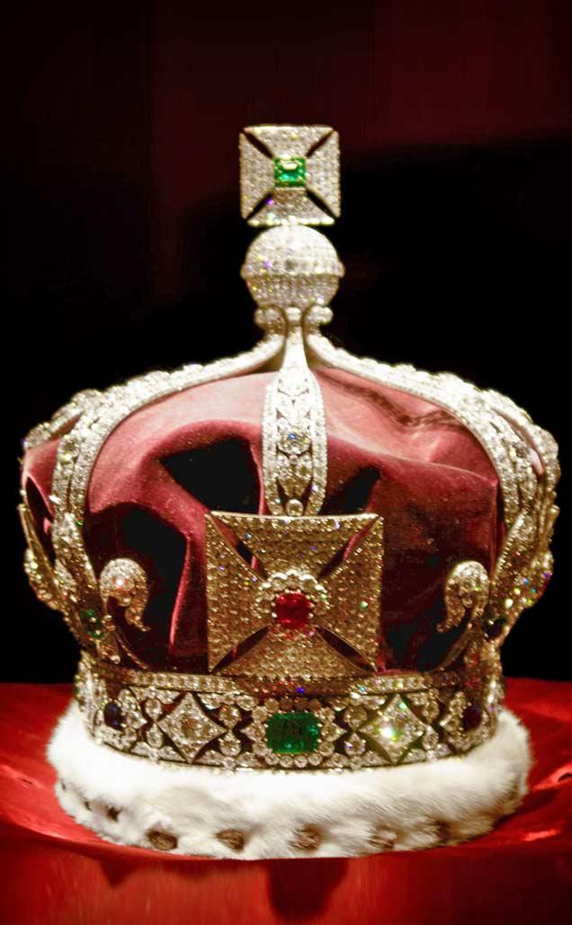 Корона Георга V. 1911