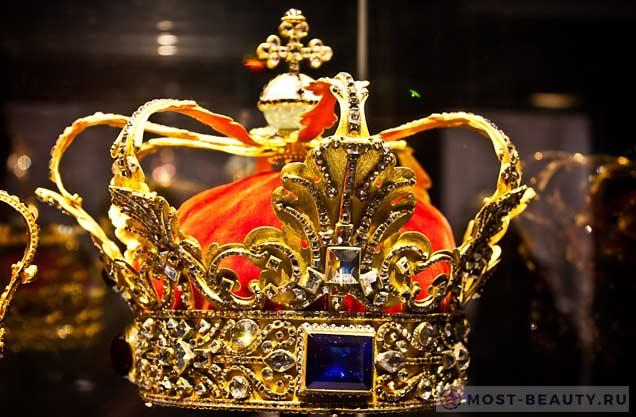 Корона датского короля Кристиана V