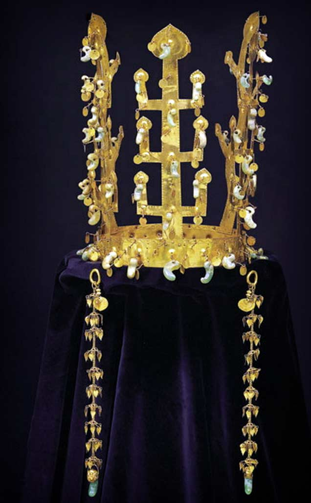 Корона государства Силла