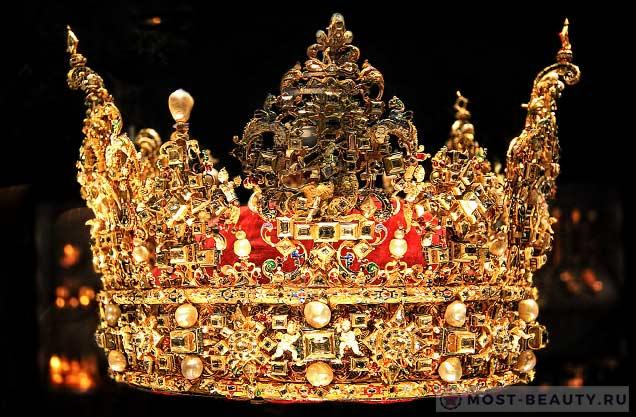 Корона короля Дании Кристиана IV