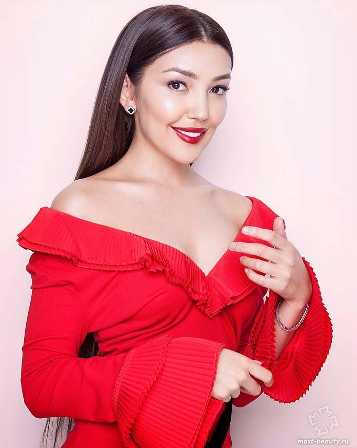 Куралай Анарбекова - одна из самых красивых актрис Казахстана