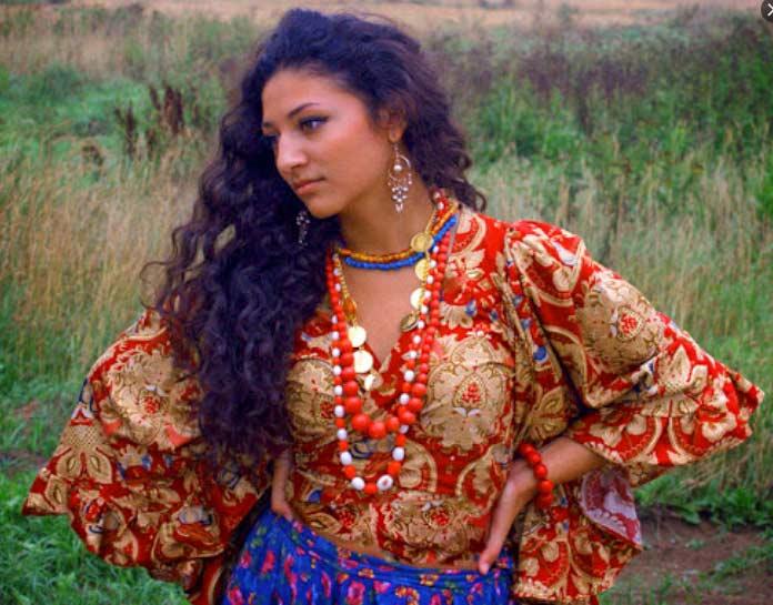 Самые красивые цыганки: Ляля Молдавская