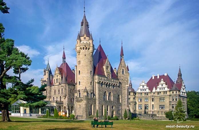Мошненский замок. CC0