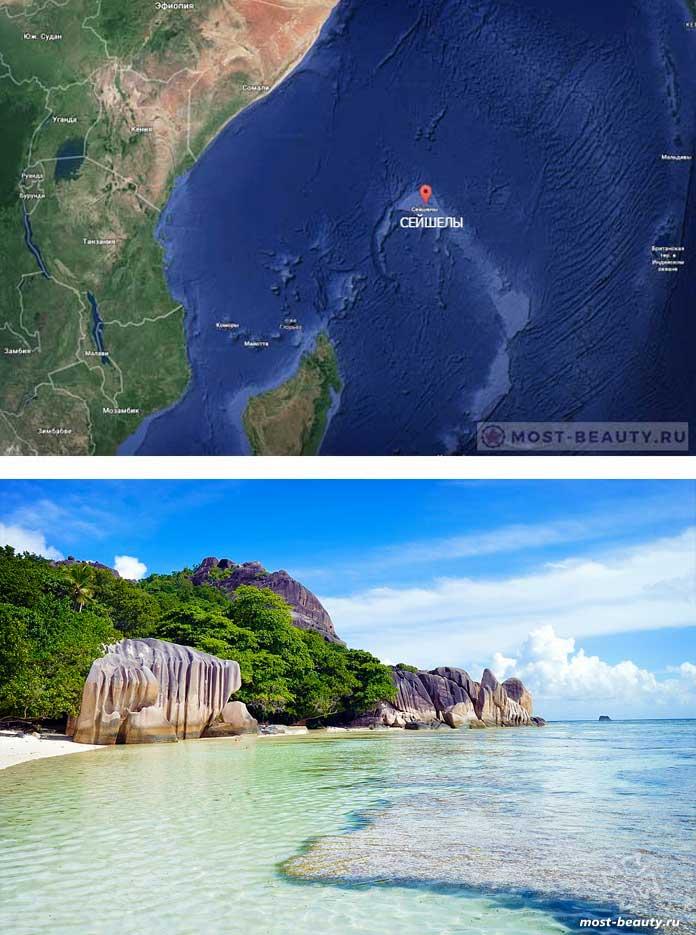 Тропические острова: Сейшелы. CC0