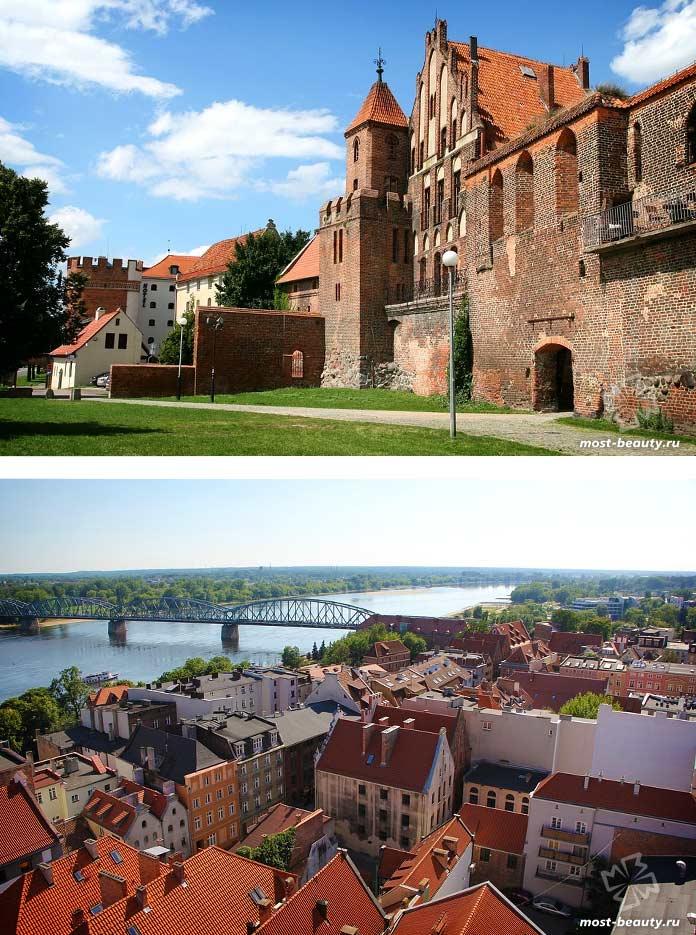 Красивые достопримечательности Польши: Торунь. CC0