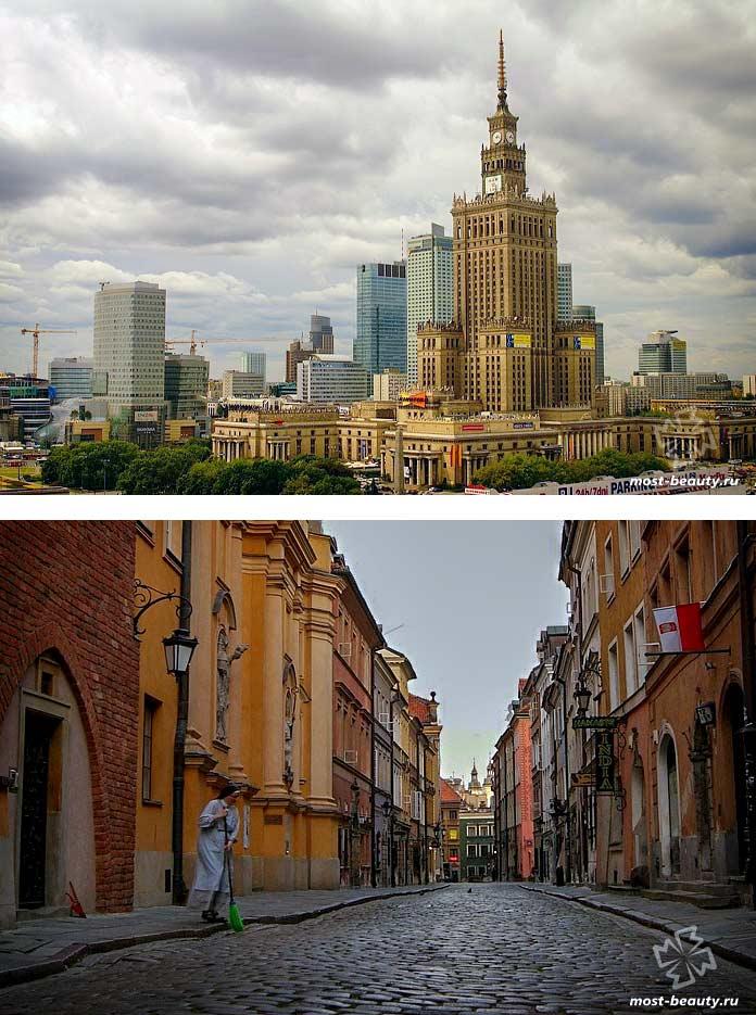Варшава - одно из самых красивых мест Польши. CC0