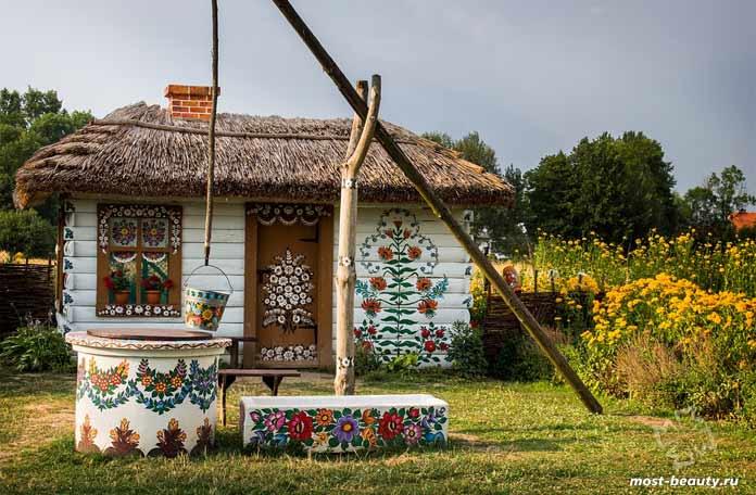 красивые достопримечательности Польши: Залипье. CC0