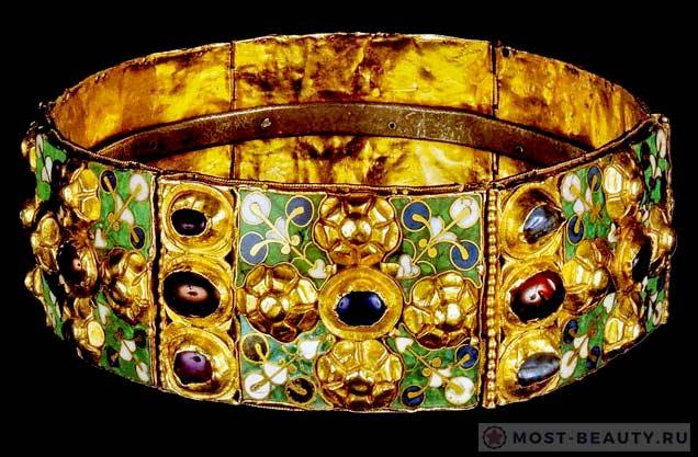 корона Лангобардского королевства