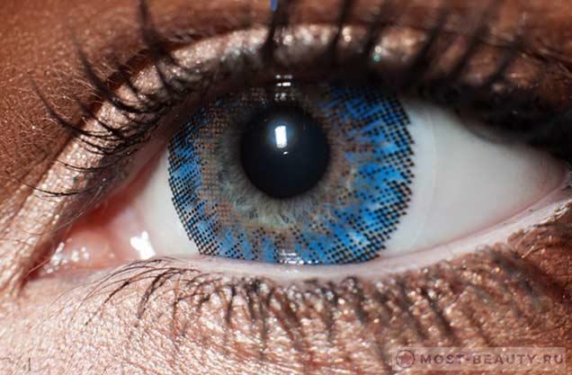 Самые необычные и красивые контактные линзы для глаз