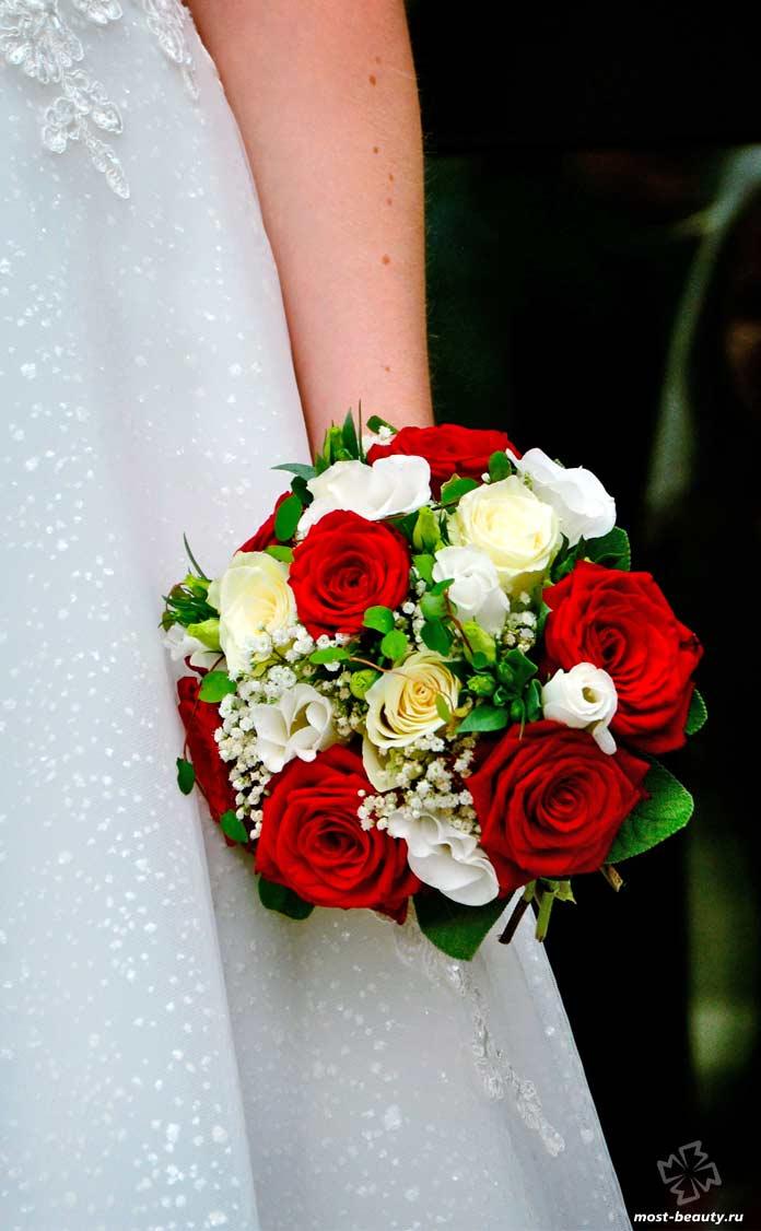 Красивый свадебный букет. CC0