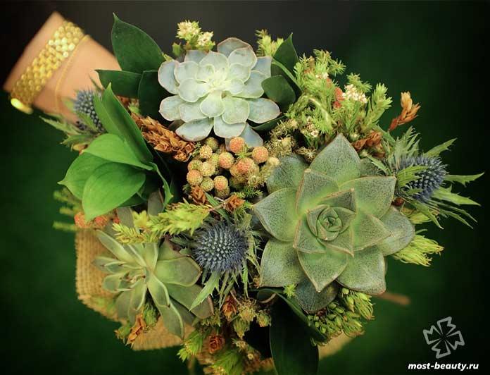 Оригинальный свадебный букет цветов. CC0