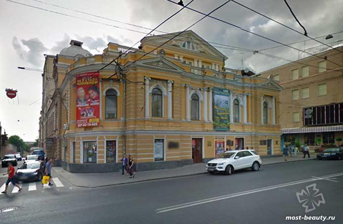 Красивые места Харькова: Драмтеатр. CC0